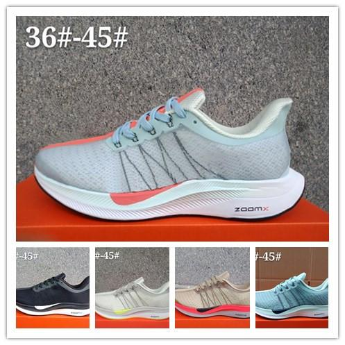 f5ec2c8cfa6d4 2019 Air Zoom Pegasus Turbo 35 Mens Running Shoes Designer Shoes Maxes  Luxury Brand Black White Sneakers Trainers Hiking Outdoor Sports Shoes Hot  From ...
