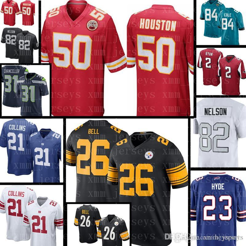 d39aa5f45 Pittsburgh Steelers 26 Le Veon Bell Jersey Mens 78 Alejandro ...