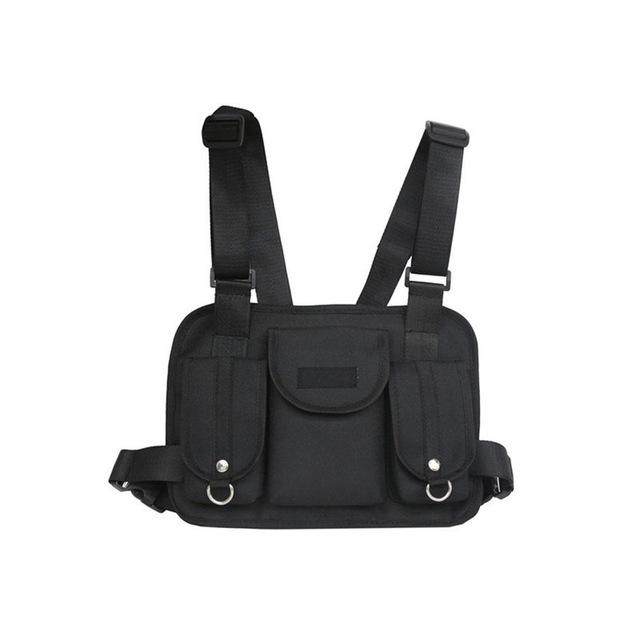 Fashion Men Women Chest Back Pack Riding Crossbody Shoulder Bag