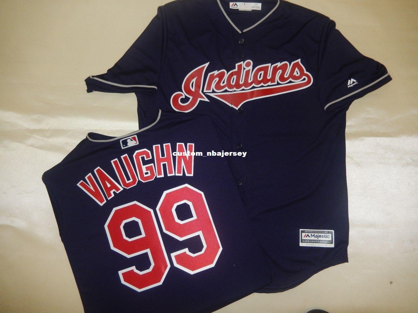 2019 Cheap Custom RICKY VAUGHN WILD THING Cool Base Baseball Jersey  Stitched Customize Any Name Number MEN WOMEN BASEBALL JERSEY XS 5XL From ... 3e9b5d9fd