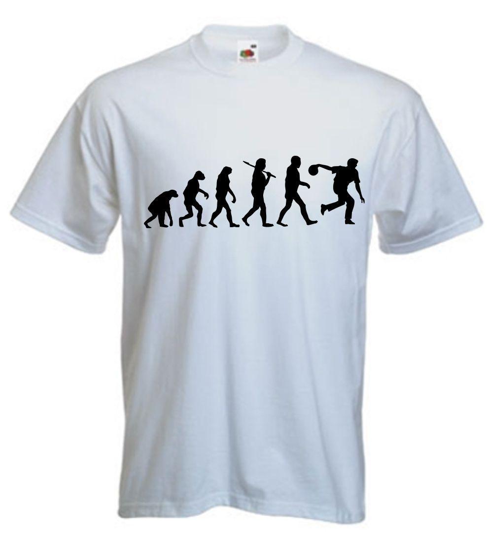 b7a0883541 Evolution Of Bowling T Shirt Bowls TShirt Ten Pin Crown Green Bowl T SHIRT  S XXL Funny Unisex T Shirt On Shirt Online Tee Shirts Shopping From  Young_ten, ...