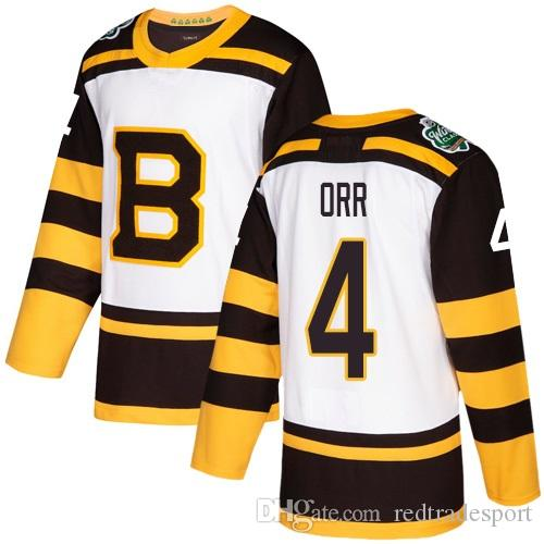 d8485ab03 2019 2019 Winter Classic Retired Player Boston Bruins Bobby Orr Hockey  Jerseys Mens Cheap #4 Bobby Orr Stitched Shirts S XXXL From Redtradesport,  ...