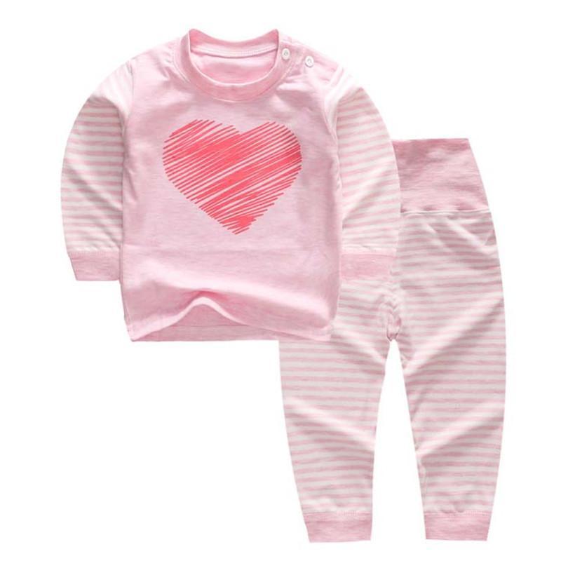 f4c0019785b8 2019 Good Quality Autumn Girls Pajamas Sets Kids Children Girls ...