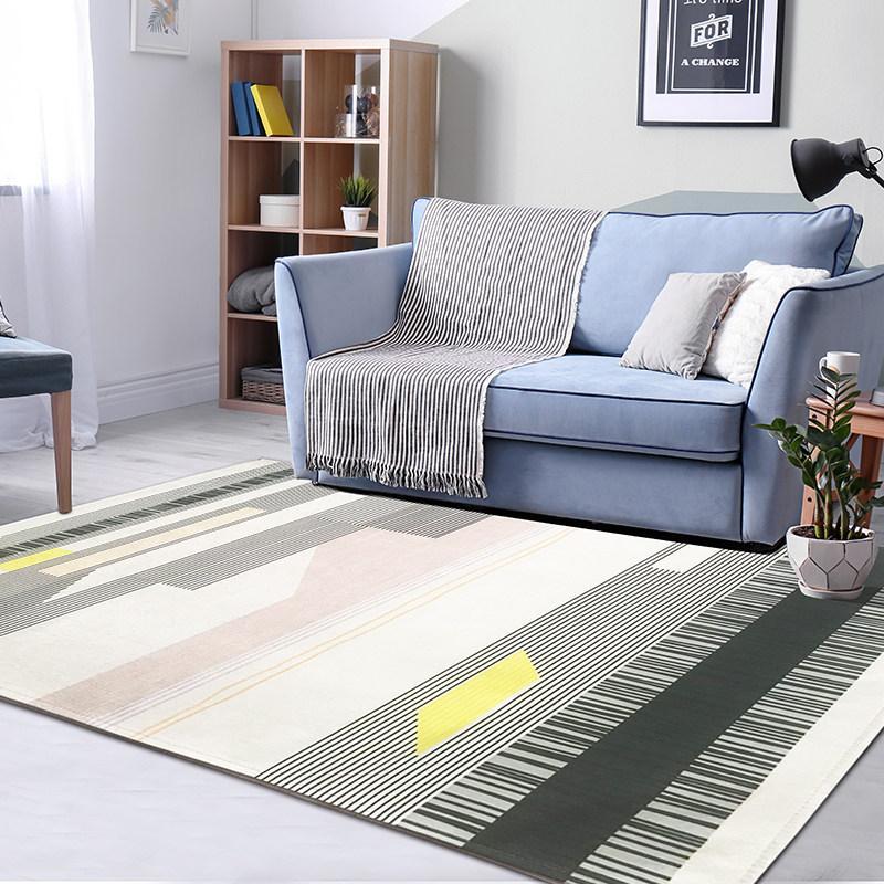 Großhandel Geometrische Teppich Wohnzimmer Nordic Teppich ...