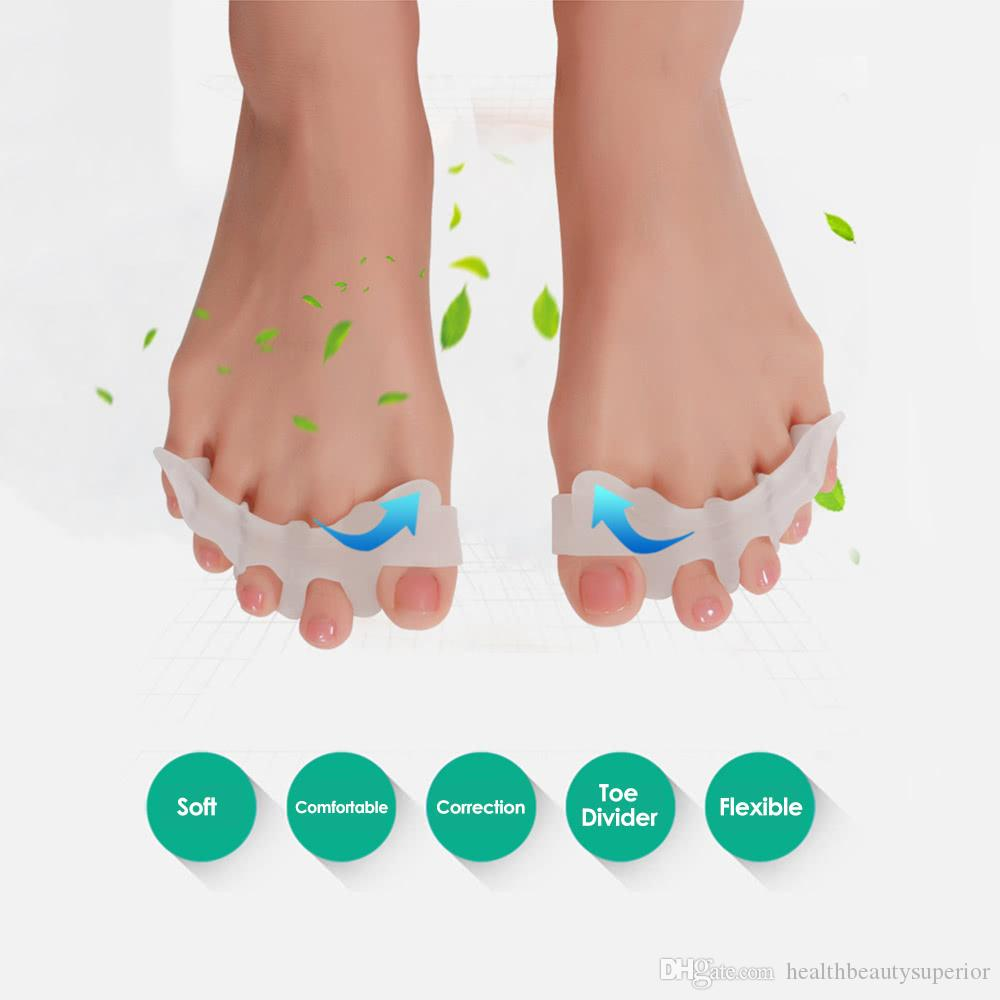 Foot Hallux Valgus Orthopedic Feet Finger Corrector Toes Thumb Fingers Separator Divider Protector Adjuster Feet Care Tool