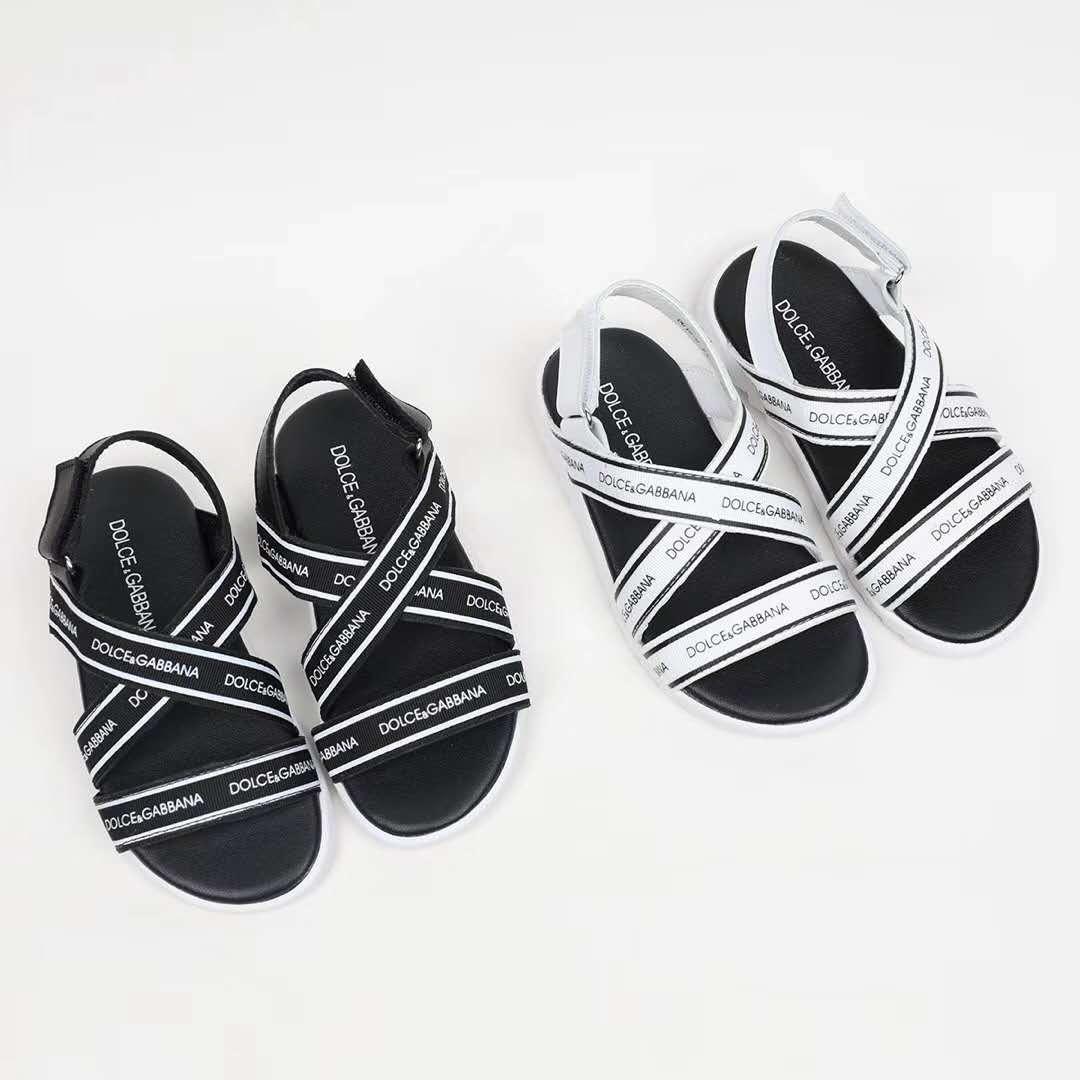 7d5641ede Kids Sandals For Boy Black Leather Sport Sandal Slippers Black Boy ...
