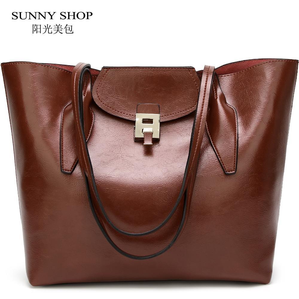 556f00007ee1 2019 Fashion American Style Shoulder Bag 2018 Soft PU Women Leather Handbags  Office Large Capacity A4 Ladies Hand Bag Sling Shopper Bag Hobo Purses  Leather ...