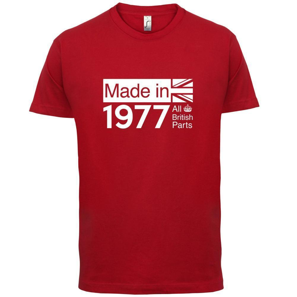 1977 British Parts 39th Birthday Mens T Shirt 13 Colours Gift Present Shirts Shopping Really Funny From Jie42 1208