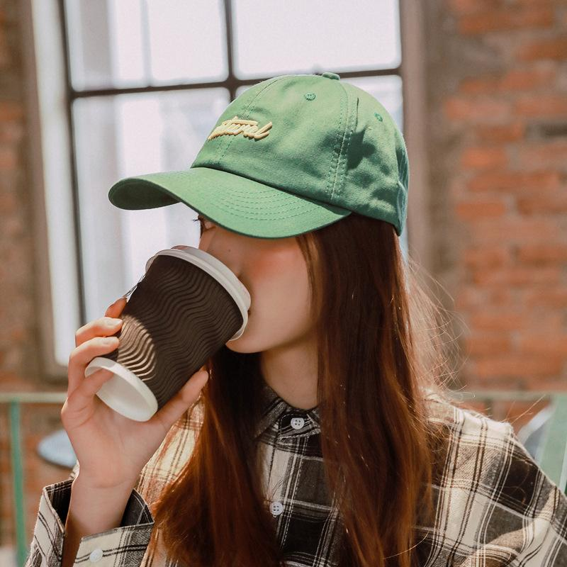 4bf6d93f Women's Summer Retro Baseball Cap Adjustable embroidery Soft top Snapback  Hats For man Outdoor Sunscreen cap peaked cap
