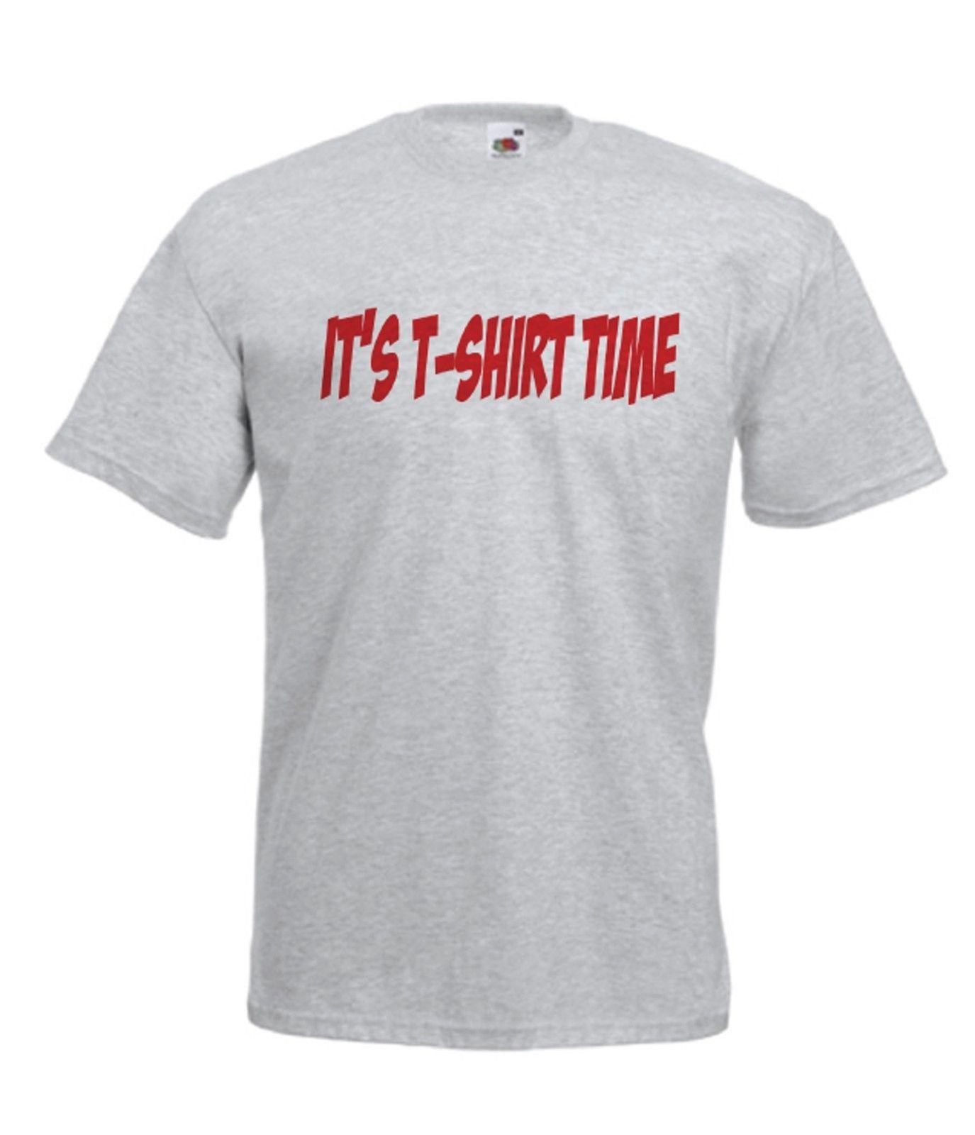 T SHIRT TIME funny holiday xmas birthday party gift idea mens womens adult TOP