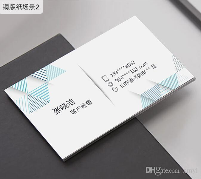 Customized Order Business Card Full Color High Quality Printing Or