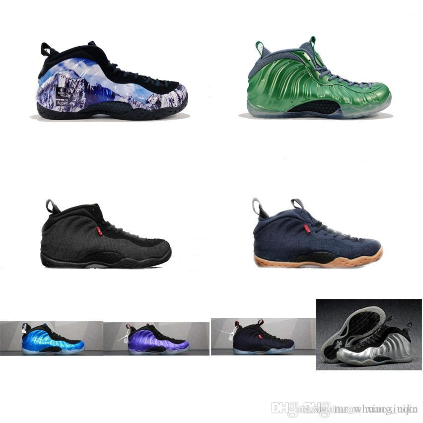 2e780931f99 Cheap Men Penny Hardaway Basketball Shoes for Sale Green Denim Jeans ...