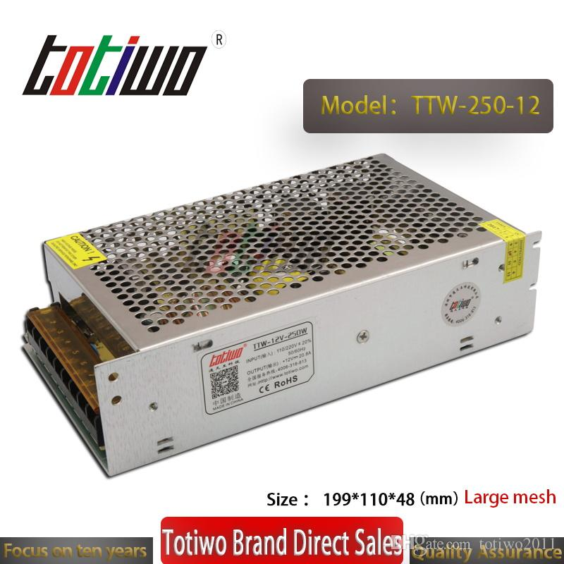 12V 20.83A 250W Switching Power Supply Driver For LED Light Strip Display AC100-240V Factory Supplier Free Shipping