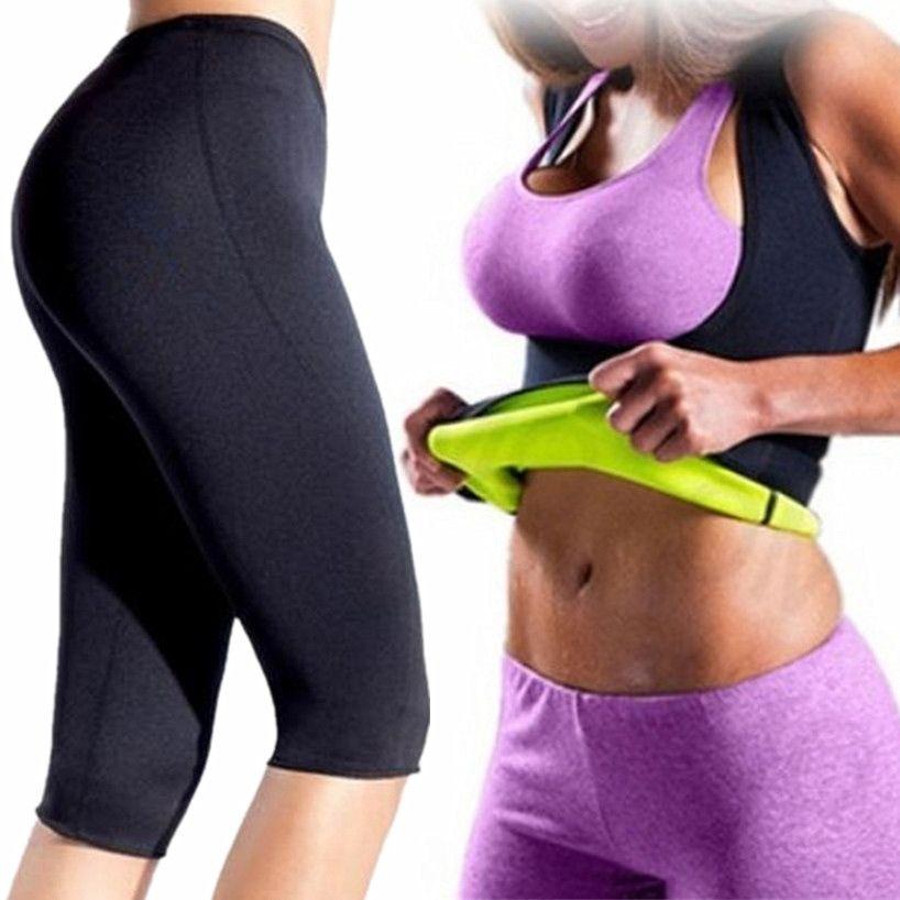 d4dc55a1f5d105 2019 Women Yoga Slimming Sets Fitness Sport Shirt Vest+Yoga Pants Leggings  Set Gym Running Sport Suit Set Workout Clothes Female  135179 From  Hotjersey2019