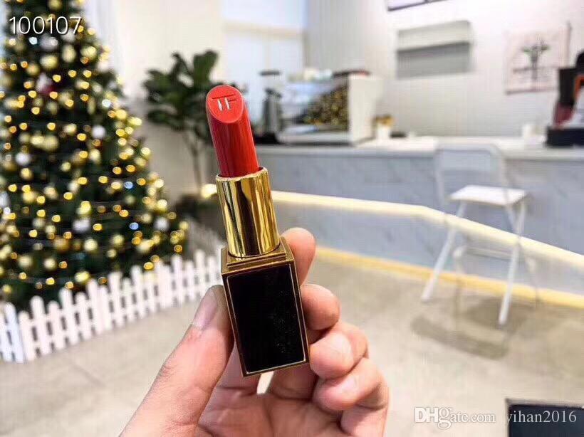 Makeup Famous American Brand T F Christmas Make-up Six Pieces Kit 2 Black Lipsticks & Cheek + Eye Shadow + Mascara + Eyeliner