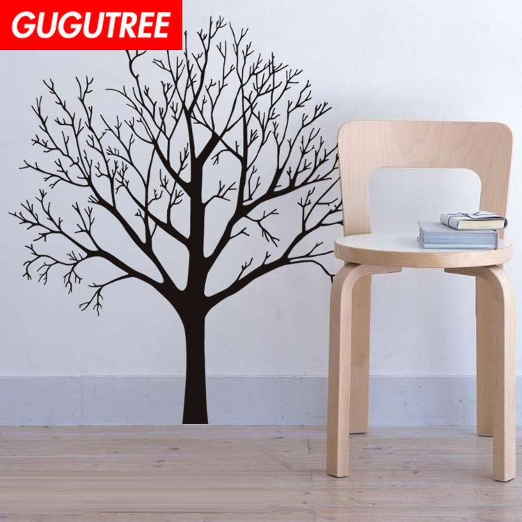 Decorate Home trees cartoon art wall sticker decoration Decals mural painting Removable Decor Wallpaper G-1792