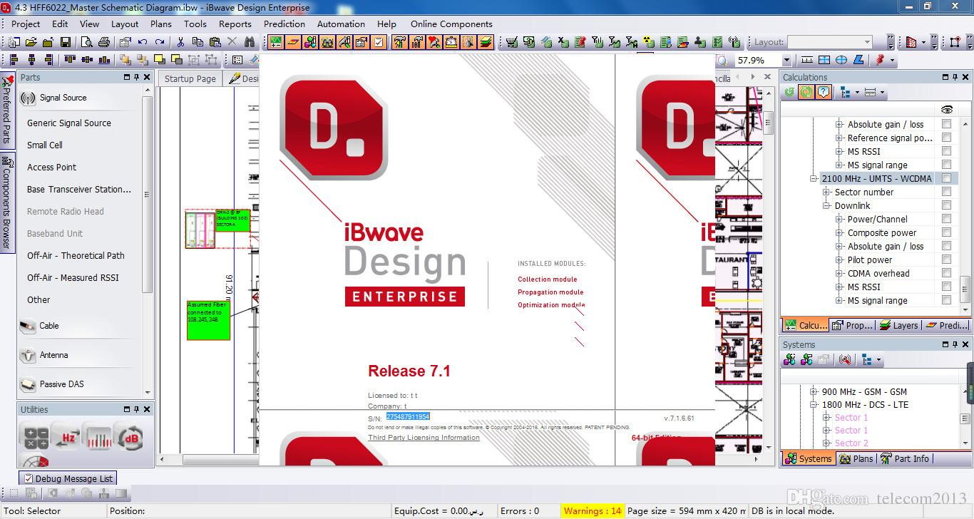 iBwave Design 7.1