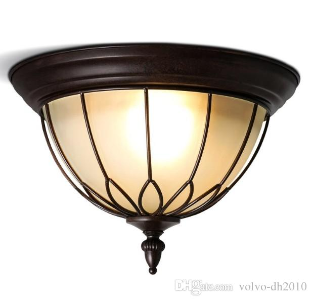2019 American Country Style Ceiling Lights Lamp For Living Room