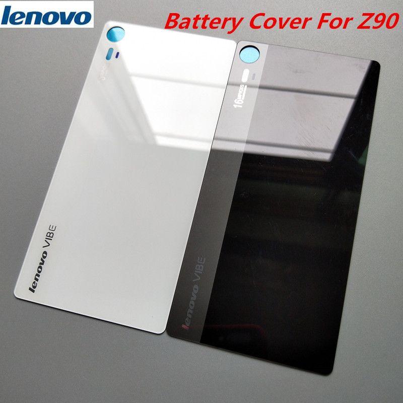 Lenovo Vibe Shot Z90 Original Rear Replacement Glass Housing Cover ,mobile  phone Back Door Hard Battery Case Repair