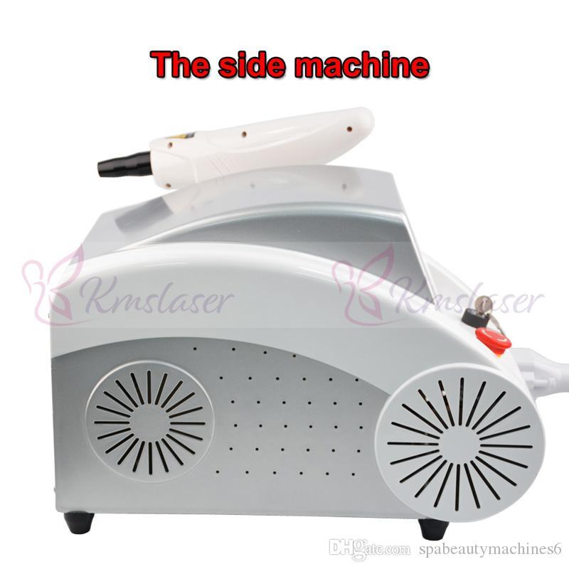 nd détatouage au laser machine laser Yag Doll Noir traitement Meilleures ventes machine détatouage portable