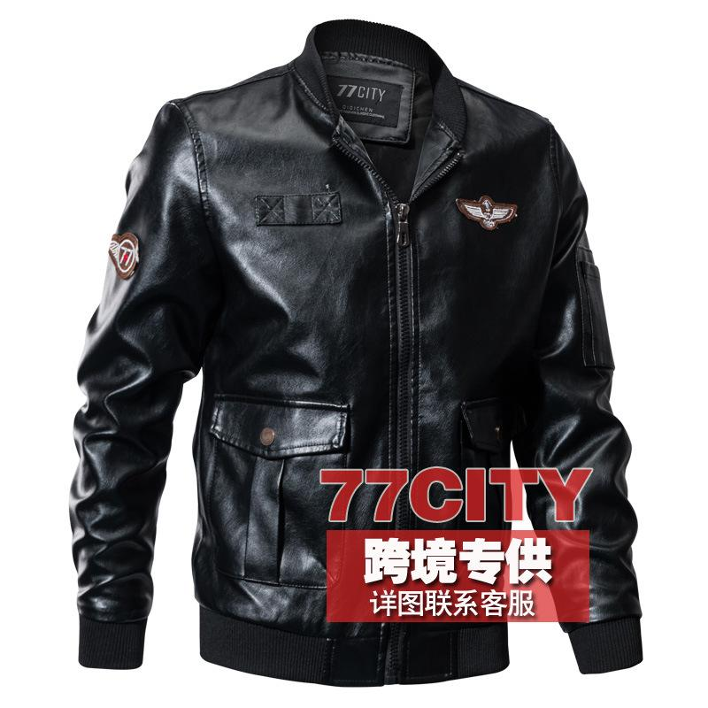 For Speed Sell Through Ebay Amazon One Pu Leather Jacket In The Spring And Autumn Outfit 3 D Flight Suit