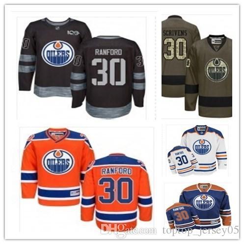 Top Can Edmonton Oilers Jerseys  30 Bill Ranford Jerseys Men WOMEN YOUTH Men S  Baseball Jersey Majestic Stitched Professional Sportswear UK 2019 From ... 5c1835dd3