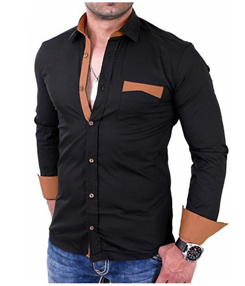 5d63dda16eb9 RunlioneDhgate Fiori Acquista Uomo Top A34 Primavera Etnici Camicie Casual  Cotone Dal Da Slim Lunga Moda ...
