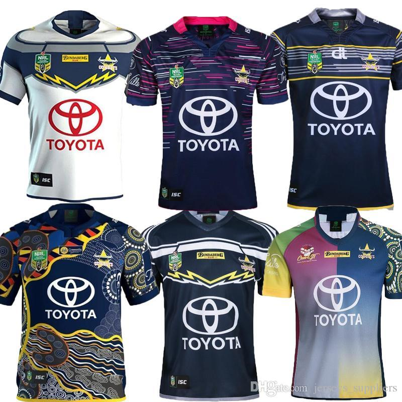 dc1d37c4c 2019 AAA+2018 NORTH QUEENSLAND COWBOYS WOMEN IN LEAGUE JERSEY MENS Cowboys  WIL Rugby Jerseys NRL National Rugby League Nrl Jersey Shirt S 3xl From ...