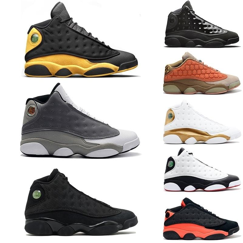 Basketball Shoes 13 13s mens Sneakers Low Chutney Melo Class of 2002 Phantom playoff bred Men Sports Shoes Trainers Size 7-13