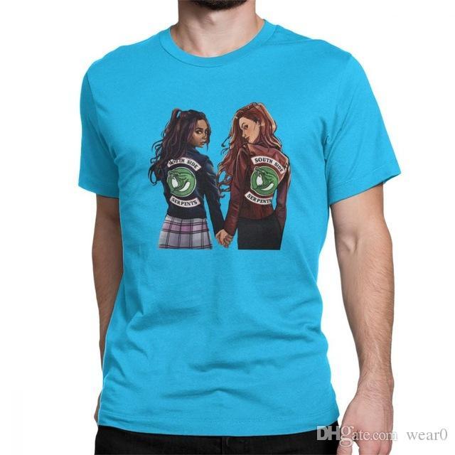 Serie Riverdale 5xl Camiseta Tv Tops Informal Lujo Para Diseñador Con Camisetas Marcas De 6xl Hombre 4xl Choni dQrhotCsxB