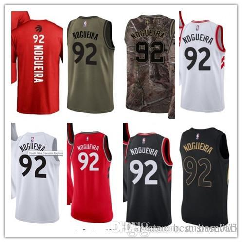 outlet store 3dcd8 a9bc8 custom 2019 Toronto Raptor Jerseys #92 Lucas Nogueira Jerseys  men#WOMEN#YOUTH#Men's Baseball Jersey Majestic basketball jersey