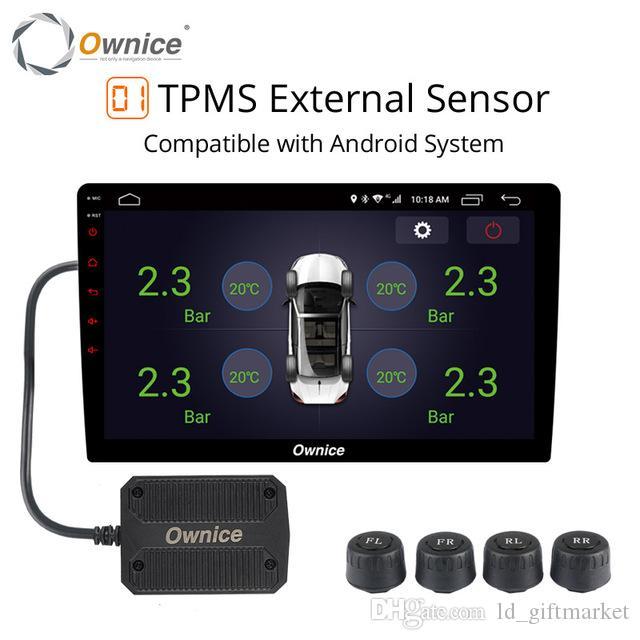 Tire Pressure Monitor >> Ownice Usb Car Android Tpms Tire Pressure Monitor Android Navigation Pressure Monitoring Alarm System Wireless Transmission Tpms