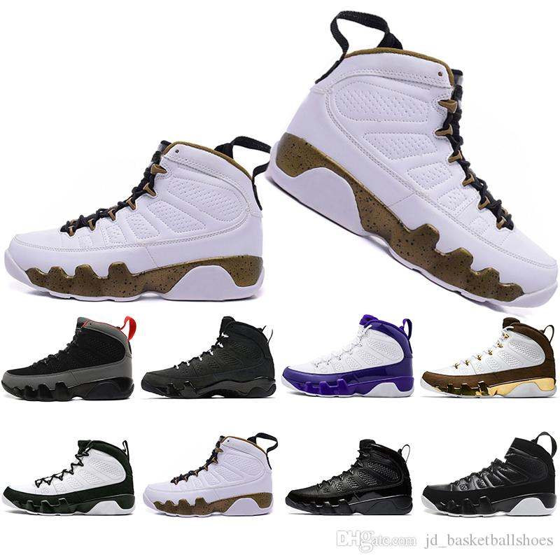 online retailer cbf0a a2ed4 Wholesale New Mop Melo 9 9s mens basketball shoes LA Bred OG Space Jam Tour  Yellow PE The Spirit sports trainers Sneakers Shoes