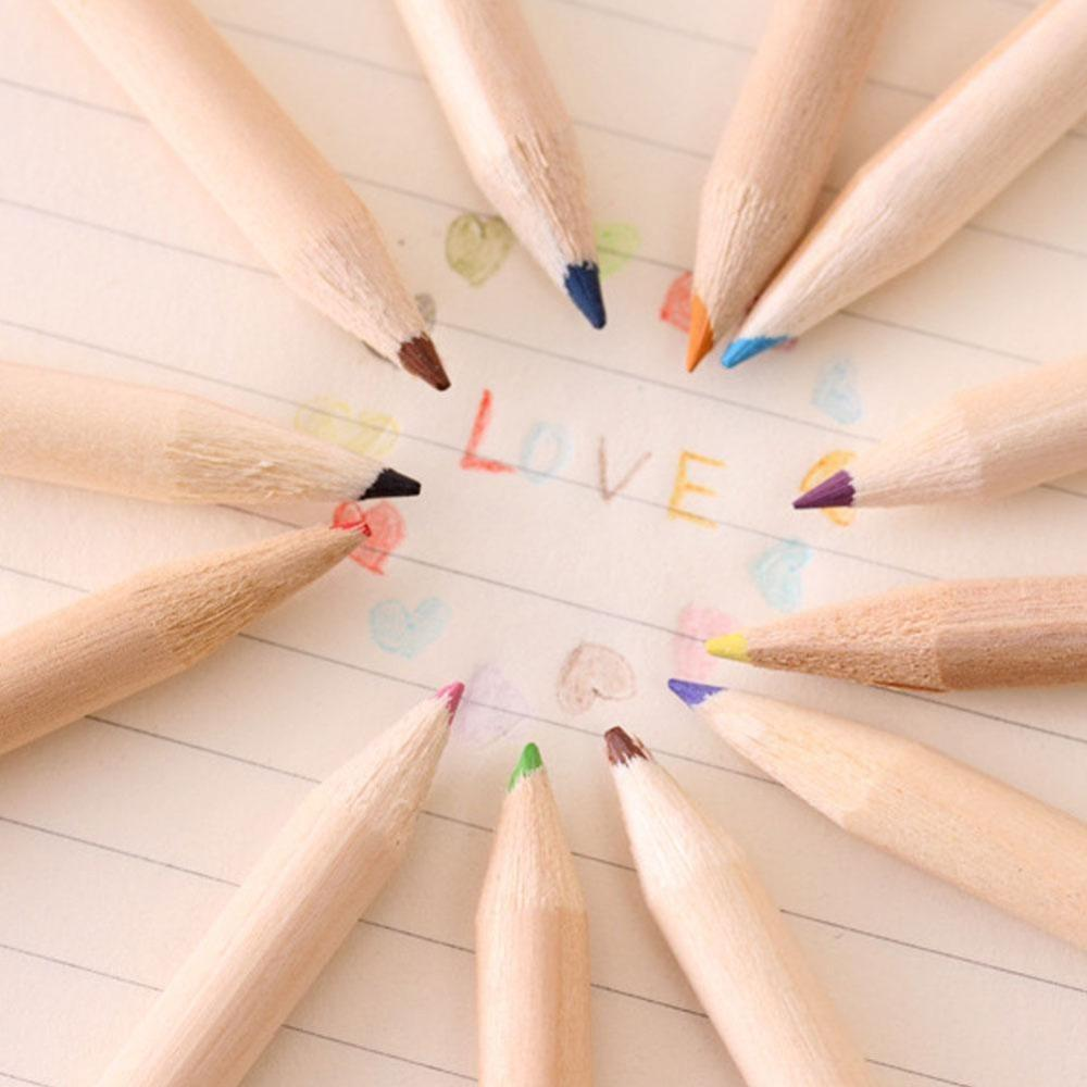 Vividcraft 12 colors pencil cute colored pencils drawing pen pack korean creative office school stationery supplies