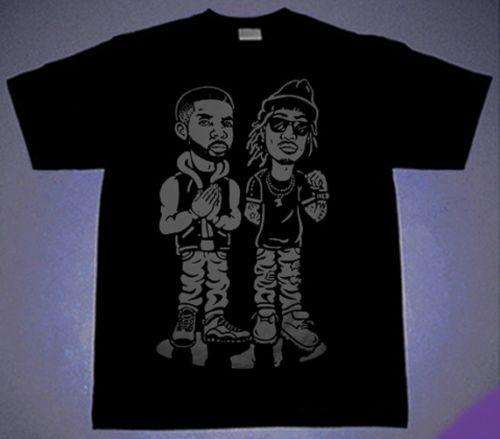 e56c5203831f New Drake   Future Shirt OVO Views Owl Rap Summer Sixteen Cajmear S M L XL  2XL Tees T Shirt Shirts Print From Merch2rock