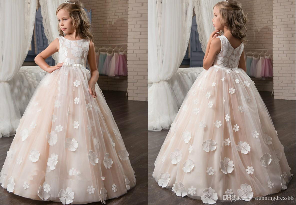 Plus Size Flower Girl Dresses - raveitsafe