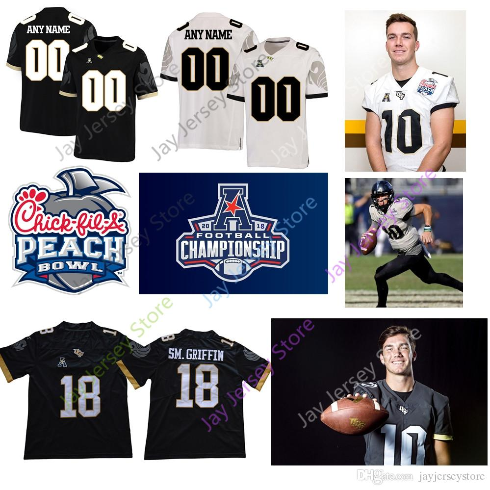 2019 Custom College UCF Knights Football Jersey McKenzie Milton McCrae  Killins McGowan Brandon Marshall Blake Bortles Shaquill Shaquem Griffin  From ... 5f1a83497