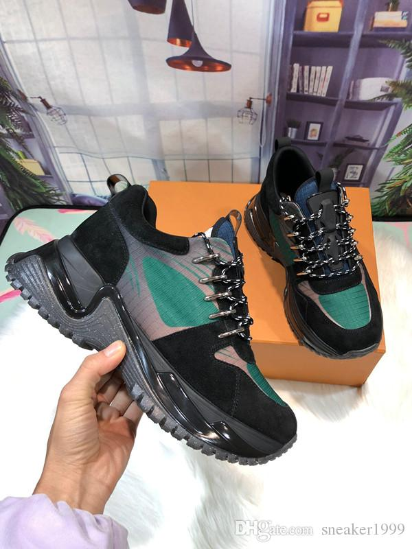 official photos 919e8 c3c03 2019 Human Race Hu trail pharrell men designer shoes Nerd black cream Holi  mens trainers women sports sneakers LH19021521