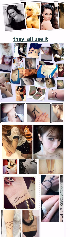 Romantic Dreamcatcher Temporary Tattoo Stickers Feather Decals Tattoo Body Art Waterproof fake tattoo flash tatoo sticker lolita