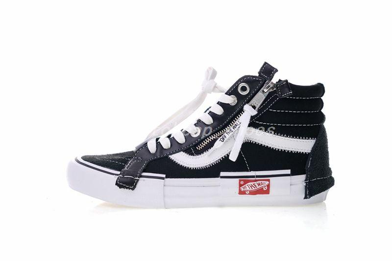 7e295253a39 Vans Sneakers OFF Vault Sk8-Hi Cap LX Old Skool Deconstructe Casual Canvas  Shoes For Women Men White Skateboard Sneakers Trainer Zapatillas Vans Vans  ...