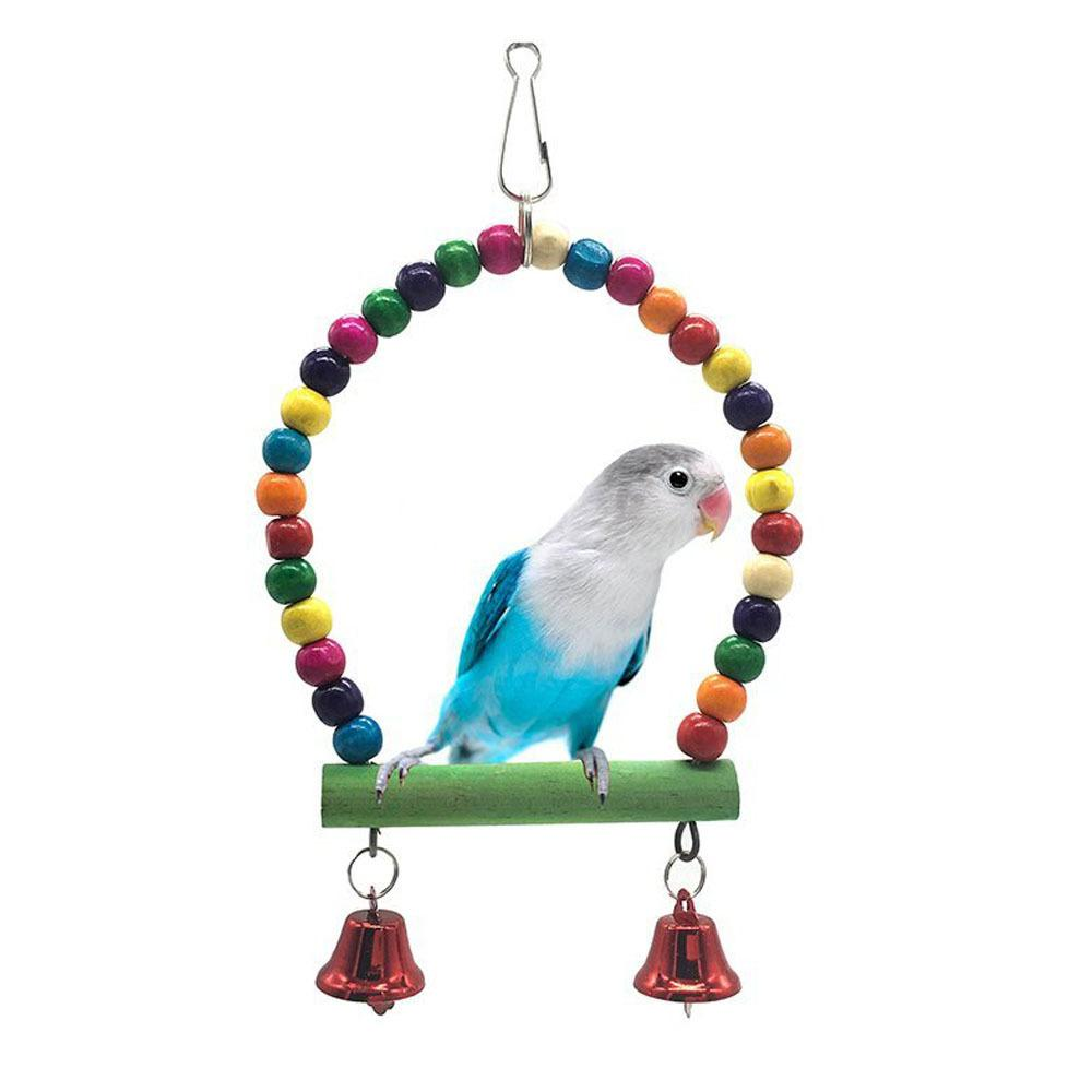 Amazon Middle And Small Size Parrot Articles Parrot Swing Bird Stand Frame Small Favour And Put Sb. In Important Position Product Wish