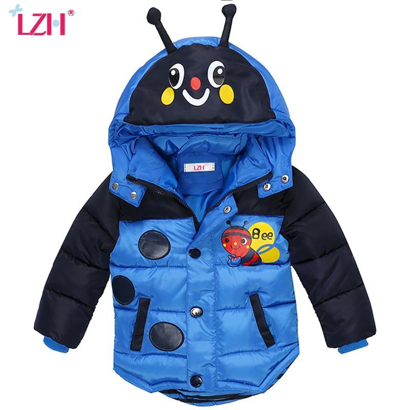 b09fa075d Baby Boys Jacket 2018 Autumn Winter Jackets For Boys Coat Kids Warm ...