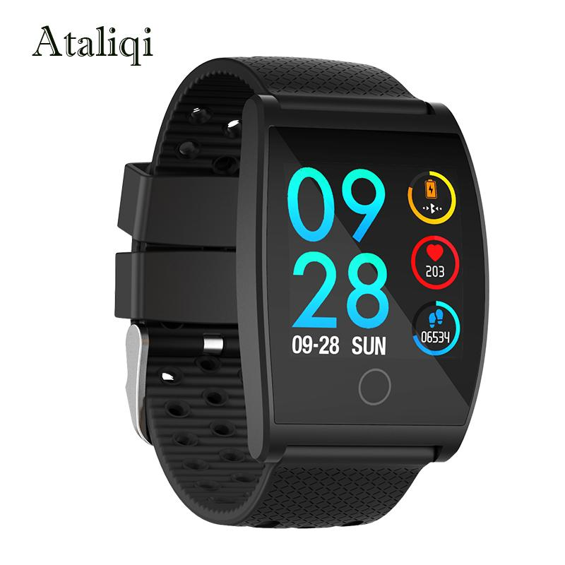 Wearable Devices Consumer Electronics 2019 Latest Design Smart Watch Men And Women Bluetooth Ip67 Waterproof Watch Sport Fitness Tracker Heart Rate Smart Band For Ios Android Smartphone 2019 Official