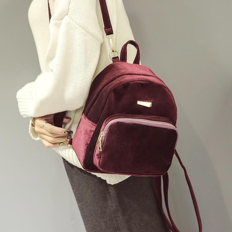 d9db69e8bd56 Free Shipping 2019 New Woman Handbags Trend Messenger Bag Simple Korean  Version Women Bag Fashion Mini Backpack Retro Flap