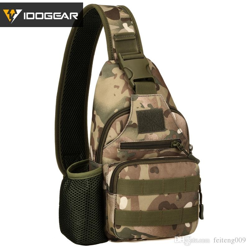 Camping & Hiking Unisex Military Tactical Chest Pack Nylon Cross Body Sling Single Shoulder Bag Fishing Camping Equipment Selling Well All Over The World