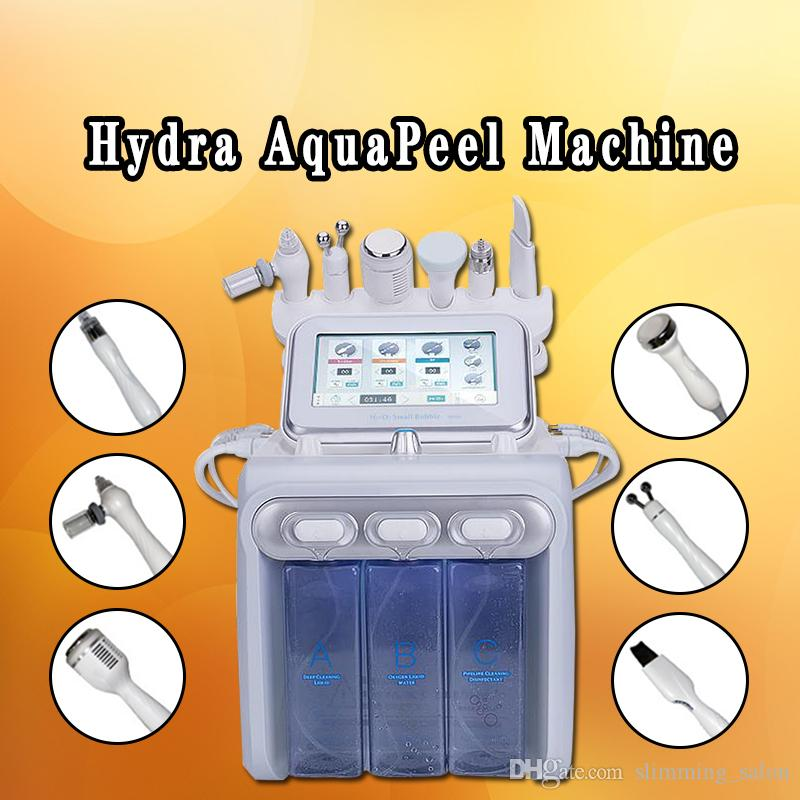 2019 Dermabrasion home use beauty machine microdermabrasion hydra facial machine Water Aqua Dermabrasion Peeling Hydra facial Rejuvenation