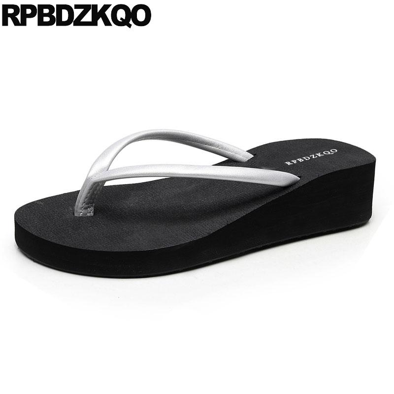 7b3544dfe 5 Flip Flop Beach Most Popular Products Sandals Shoes Summer Silver ...