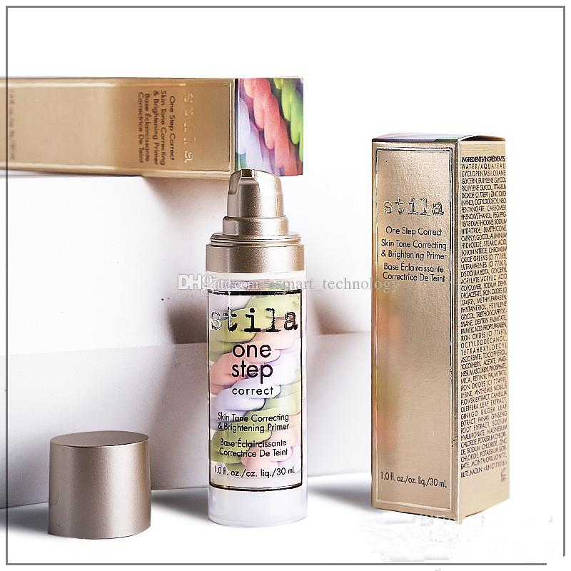 Stila One Step Correct Tone Correcting Brightening Primer 30ml Liquid Foundation fond de teint Correttore