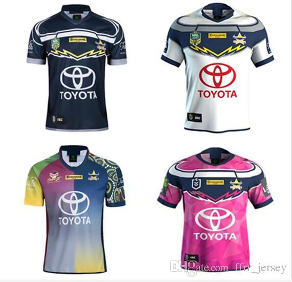 best website 9880a 9aa05 2019 NRL QUEENSLAND COWBOYS JERSEYS size S-3XL BRISBANE BRONCOS SOUTH  SYDNEY RABBITOHS SYDNEY ROOSTERS 2018 MELBOURNE STORM rugby