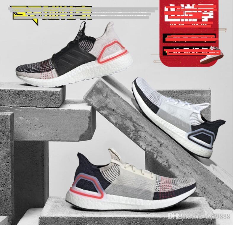 242e9528a20aa 2019 Ultra Boost 19 Men Women Running Shoes Ultraboost 5.0 Laser Red Dark  Pixel Core Black Ultraboosts Trainer Sport Sneaker Size 5 11 Most  Comfortable ...